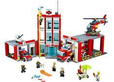 LEGO CIty - Statia de pompieri (60110), jucarii LEGO City ieftine de Craciun