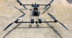 水素燃料電池で4時間飛べるドローン Hycopter、シンガポール企業が発表 - Engadget Japanese