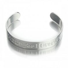 Help for Heroes silver bangle