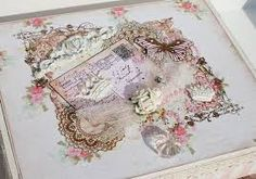 Image result for shabby chic altered box