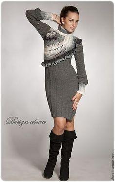 """Платье """"Джеки"""" - Аля """"Design aloxa"""" - Ярмарка Мастеров http://www.livemaster.ru/item/8424877-odezhda-plate-dzheki"""