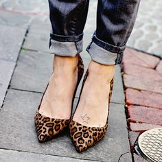 Blogger Bethann of Beth Animal Print instagrammed a photo of her favorite cuffed Sofia Skinny jeans in November 2014.