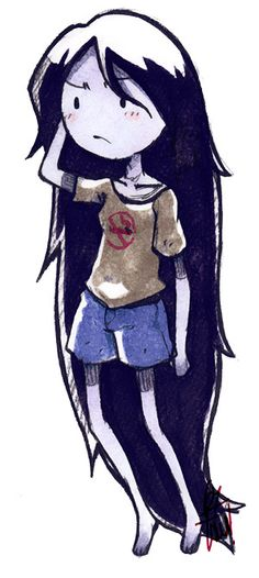 Adventure Time - Marceline - by LazyTurtle.deviantart.com
