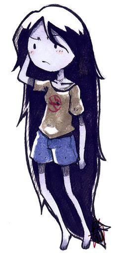 Adventure Time - Marceline - by LazyTurtle.deviantart.com