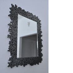 TributeToBikers - mirror made of bikechains