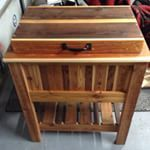 #woodenbeercooler #kregjig all done now time to enjoy #icecoldbeer #partytime #flanorm