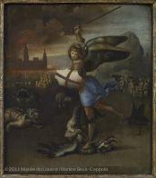 Saint Michel terrassant le démon   Musée du Louvre   Paris