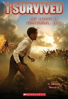 The bloodiest battle in American history is about to begin. . .  It's 1863, and Thomas and his father are slaves in South Carolina. But in the chaos of the Civil War, they manage to break free and head north. Through the Underground Railroad they make their way to Pennsylvania. But they can't escape the war -- and soon Thomas finds himself in the middle of a harrowing battle. (I Survived)