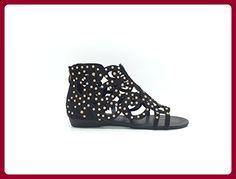 CHIC NANA ,  Damen Sandalen , Schwarz - Schwarz - schwarz - Größe: 39 - Sandalen für frauen (*Partner-Link)
