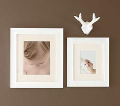White Lacquer Frames | Pottery Barn Kids