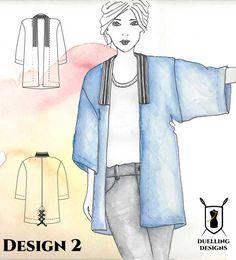 I am Voting for Design 2 in the Denim Challenge