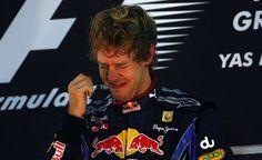 Sebastian Vettel at the Abu Dhabi Grand Prix in 2010