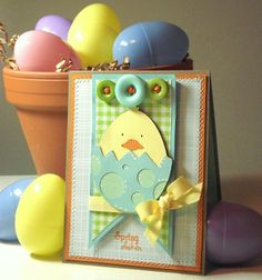 Sweet Chick Easter Egg Card...