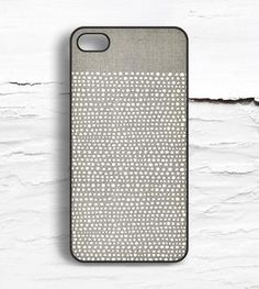 White Dot iPhone Case via Scoutmob  Made by Hello Nutcase in Montclair, NJ