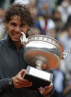 <3 Rafa Nadal 7-time French Open Champion 2012 - a true champion in every sense!!
