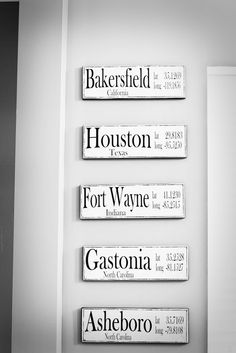 Great idea for conversation.  Signs from places you've lived....or want to...(JX)  Tidbits from the Tremaynes: Best of the Best