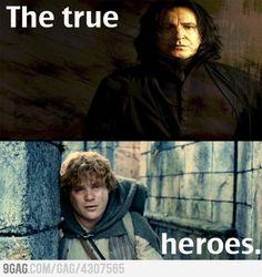 The true heroes.