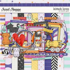 Sweet Shoppe Designs::2013 Going, Going....GONE!::Kits::Kitteh Love by Lauren Grier