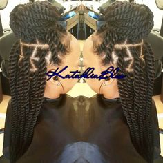 Natural Hair Coming Out Of Senegalese Twists