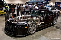 Twin Turbo Viper GTS...If the stock motor doesn't melt the body then add boost