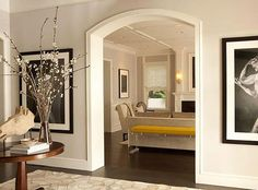 Traditional and Classic Architecture - Interior Frame out those outdated archways for a crisp look