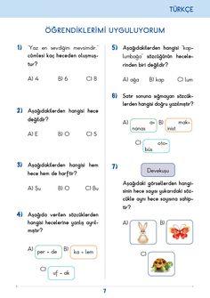 3. Sınıf Konu Anlatım Türkçe Bilgi Kutusu Turkish Language, 1, Education, Math, Books, Kids, Livros, Children, Boys