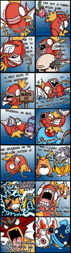 Pokemon and The Fresh Prince of Bel-Air..... NICE! So which fish Pokemon would be Carlton then?