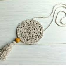 Best 12 Flax & Cotton Pendant and earrings Crochet Ornaments Crochet Earrings Pattern, Crochet Jewelry Patterns, Crochet Motifs, Crochet Mandala, Crochet Bracelet, Crochet Accessories, Crochet Flowers, Crochet Gifts, Crochet Yarn