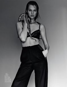 Anais Pouliot Revealed By Jeff Hahn For Tush Magazine Fall 2013