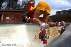 Stacy Peralta, 1977  Jim Goodrich