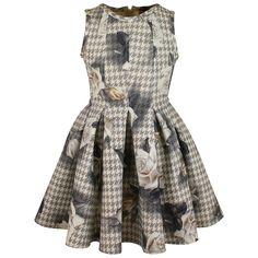 Monnalisa Monnalisa Dress Cream - Monnalisa from Designer Childrenswear UK