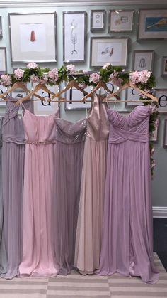 Pinkish lavender color dress