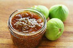 Fig Jam Recipe, Spicy Fig Orange Microwave Jam Recipe on SimplyRecipes.com