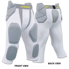 6dda41e08e4  RECOMMENDED  Champro Man Up 7 Pad Football Girdle - Adult   Youth Sizes