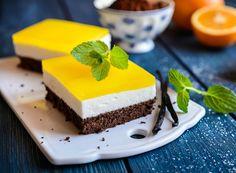 8 fantasztikus pudingos sütemény: a piskótától a Fanta-szeletig - Recept   Femina Izu, Marshmallows, Cake Cookies, Granola, Baked Goods, Tiramisu, Cheesecake, Protein, Food And Drink