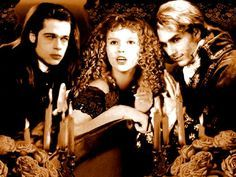"""How do we seem to you?... Do you find us beautiful, magical?... Our white skin, our fierce eyes?...  """"Drink"""", you ask me, do you have any idea of the thing you will become?... (Louis de Pointe du Lac) ...... Interview With A Vampire"""