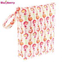 Blueberry Nasstasche/Wetbag - Flamingo #stoffwindelwoche2016  Mamas Handtasche