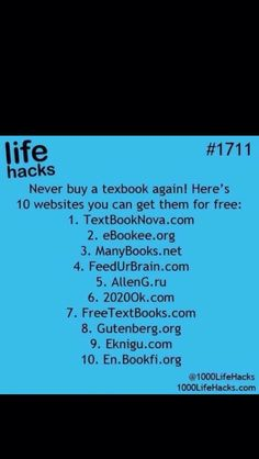 Free Textbooks!!!! #Technology #Trusper #Tip