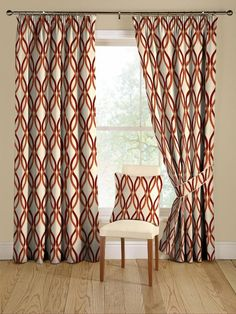 Rustic curtain ideas rustic orange curtains orange red curtains drapery ideas for the modern home red . Red Curtains Living Room, Living Room Windows, Curtain Patterns, Curtain Designs, Curtain Styles, Rustic Curtains, Drapes Curtains, Curtain Panels, Window Panels