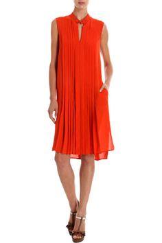 Belstaff orange dress, $1,695