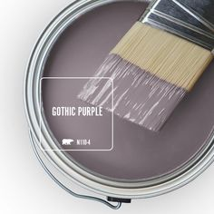 Enjoy the Behr Ultra 8 oz. Gypsy Magic Interior/Exterior Paint Tester # with low VOC ready-to-go tester is formulated with both paint and primer from The Home Depot Behr Paint Colors, Interior Paint Colors, Paint Colors For Home, House Colors, Purple Paint Colors, Paint Color Schemes, Small Bathroom Paint Colors, Office Paint Colors, Indoor Paint Colors