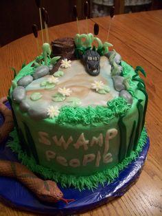 Swamp People Birthday Cake