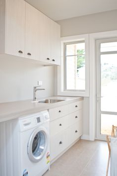 Laundry 325 by Sally Steer for Cahoots Sally, Washing Machine, Laundry, Home Appliances, Design, Laundry Room, House Appliances, Appliances