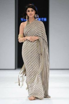 Grey colore designer saree with mirror work and embroidery work Bollywood Style saree party wear Beautiful saree - Excited to share the latest addition to my shop: Grey colore designer saree with mirror work - Indian Dresses, Indian Outfits, Emo Outfits, Bollywood Fashion, Bollywood Saree, Bollywood Actress, Estilo India, Moda Indiana, Mirror Work Saree
