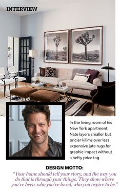 House and Home Nate Berkus - color scheme