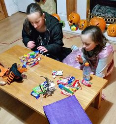 Northumberland Mam: So many Halloween sweets. #MySundayPhoto