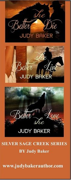 Better She Die: Her half-breed son and her abdomen growing with child, returning to the white man society is a struggle, even with the Ranger's help. Better She Live: A saloon woman…alone…unloved, surrounded by murder, deceit, and passion Better She Love: How can she compare the Comanche half-breed's kisses to the man she's going to marry, when he had only kissed her on the cheek?