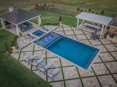 If you are working with the best backyard pool landscaping ideas there are lot of choices. You need to look into your budget for backyard landscaping ideas Small Swimming Pools, Small Backyard Pools, Backyard Pool Landscaping, Backyard Pool Designs, Small Pools, Swimming Pools Backyard, Swimming Pool Designs, Outdoor Pool, Backyard Ideas