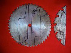 Knife blank from circular saw blade