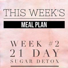 sugar detox weekly meal plans sugar knight meal ideas mark hyman spas ...